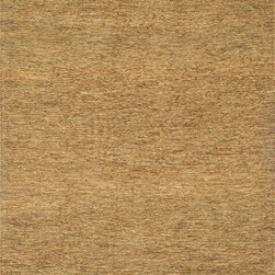 """Loloi Rugs - Loloi Rugs Turin Too Collection - Earth, 5'-0"""" x 7'-6"""" - �The Turin Too Collection offers a casual, easy-to-place, all-natural jute product in a reversible weave. The solid, earthy color palette includes beige, earth (greenish hues) and slate (a brownish gray). Turin Too offers a staple line that maintainappeal for years to come."""