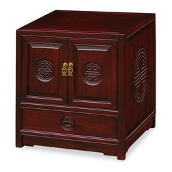 China Furniture and Arts - Elmwood Longevity Design Cabinet - Place it next to your bed or a ...