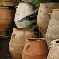 Mediterranean Outdoor Planters Old Greek Jars