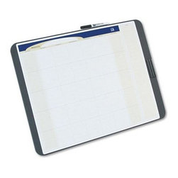 Quartet 23 x 17 in. Tack and Write Dry Erase Board - The Quartet 23 x 17 in. Tack and Write Dry Erase Board is ideal for personal as well as professional use. You can mark important deadlines in its date entry and notes sections. Use the tackable areas for pinning-up notes and reminders. Modern graphics enhance the board's dry erase writing surface, which can resist staining. A flexible mounting system can be connected to either regular or fabric-covered walls, which will add to its functionality. Package includes a dry erase marker and a eraser marker clip.About United StationersDedicated to making life in the office more organized, efficient, and easier, United Stationers offers a wide variety of storage and organizational solutions for any business setting. With premium products specifically designed with the modern office in mind, we're certain you will find the solution you are looking for.From rolling file carts to stationary wall files, every product in the United Stations line is designed with one simple goal: to improve office efficiency. In turn, you will find increased productivity, happier, more organized employees, and an office setting that simply runs better, with the ultimate goal of increasing bottom line profits.