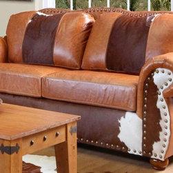 Chelsea Home Furniture - Verona Rawhide Sofa - 5269-S - Verona Collection Sofa