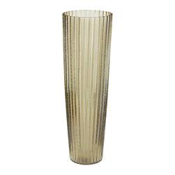 Lazy Susan - Champagne Fizz Fluted Vase - Champagne Fizz Fluted Vase