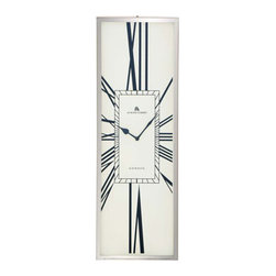 Alastair Wall Clock - A wall clock that is sure to step up the sophistication in your home, the Alastair Wall Clock is a marriage of old and new. The stainless steel is stylish and elegant, while the roman numerals give it a more traditional appearance.