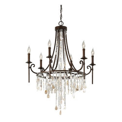 Murray Feiss - Murray Feiss Cascade Whimsical Chandelier - The Murray Feiss Cascade Chandelier is a Whimsical that will inspire design and transform your space