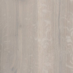 Wood Flooring - Rustic Oak Wide Plank Wood Flooring, Wire-brushed, Natural Oil Finish