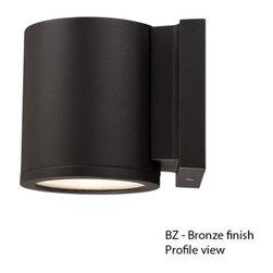 WAC Lighting - WAC Lighting WS-W2605 Tube LED Single-Light Down Lighting Outdoor LED Wall Sconc - WAC Lighting WS-W2605 Features: