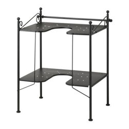 Jon Karlsson - RÖNNSKÄR Sink shelf - Sink shelf, black