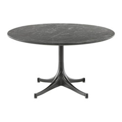 pedestal table suitable as a side table dining table or coffee table