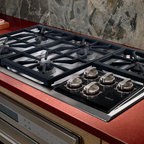 "Wolf 36"" Gas Cooktop, Classic Stainless Liquid Propane 