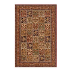 Momeni - Patchwork Inspired Multi-Colored New Zealand Wool Rug - Persian Garden PG-15 (3. - Choose Size & Shape: 3.0 ft. x 5.0 ft. Rectangle. Power loomed. Space-dyed yarn. 100% New Zealand Wool. Care InstructionInspired by the rarest Persian Antique pieces, Persian Garden is a unique collection of power-loomed rugs that evoke a sense of the past in modern-day colors and interpretations. These rugs feature an abrash effect and hand-serged edges for a quality finish.