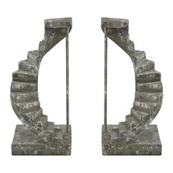 Sterling Industries - Stairwell Bookends - Stairwell Bookends