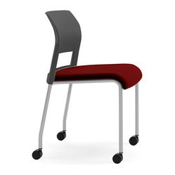 Steelcase Move Multiuse Chair, Platinum Frame and Casters