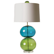 Eclectic Table Lamps by Stray Dog Designs