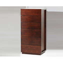 Isabella 6 Drawer Chest By Huppe - Combining storage and style,this fantastic chest provides a chic elegance that is unmatched anywhere along with six huge drawers which can be used to store anything.