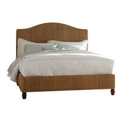 American Drew - American Drew Ashby Park 2-Piece Banana Leaf Weave Bedroom Set - The Ashby Park collection is a casual, lifestyle collection with multiple options that will help you create the perfect bedroom. The design of the collection is simple, yet full of look. An eclectic mix of colors and materials gives this group the ability to fit into many settings; create a metro, casual, transitional, traditional or even coastal appearance by changing or mixing up the colors and textures. There are five finish options. The three wood tone finishes are Natural, Nutmeg and Peppercorn and the stained colors are Sage and Sea Salt. The semi-transparent finish is accomplished by applying the various colored stains onto the strong grain characteristics of Ash. This allows the wood undertones to naturally add depth and highlights to each piece. The wood tone finishes use a Dark Copper finished knob. The stained colors use a Nickel finished knob. The hardware adds to the simple styling of the pieces. With multiple bed and case piece options, finish and hardware options, Ashby Park is sure to fit the style and needs of many homes.
