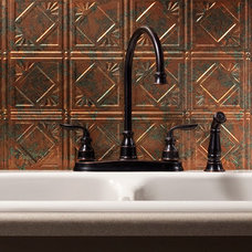 traditional kitchen tile by BacksplashIdeas.com