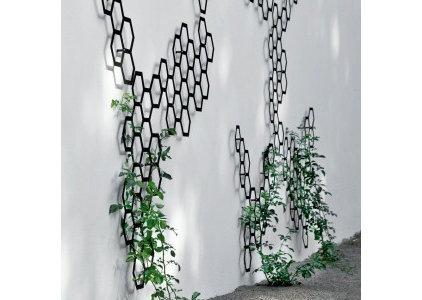 Contemporary Fencing by Garden Beet