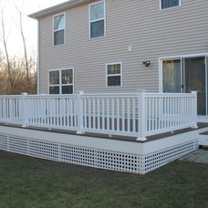 Traditional Patio by KNM Construction