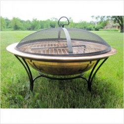 Unique Arts Solid Copper Fire Pit -