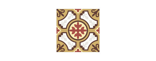 """""""Valladolid"""" 8x8 Encaustic Cement Tiles - """"Make every space Count"""" with Rustico Tile and Stone, wholesale flooring, global shipping."""