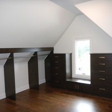 Contemporary Closet by Closet Organizing Systems