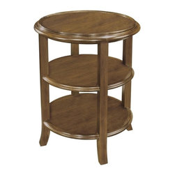 EuroLux Home - New Woodbridge Tea Table Round Wood 3-Tier - Product Details