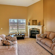 Traditional Living Room by Pathway Homes
