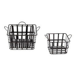 Grocery Baskets, Set of 3