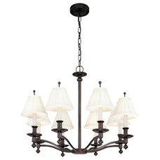 Traditional Chandeliers by fiverivers.com