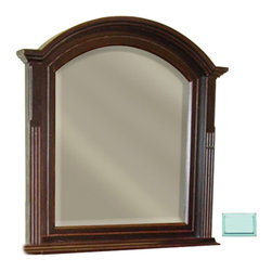 Tradewinds - Traditional Hand Made Mirror, Aqua - A Traditional Hand-made mirror , The Chespeake mirror reflects relaxed lifestyle. This mirror is available in different color options to aggrandize the presence of your walls. Mirror are the most important accessory in a home. This mirror made from plantation grown and kiln-dried mahogany and mindi as well as premium hardwood veneers goes in sync with the trend and is firm enough to last a lifetime. The Chesapeake mirror lets you adore yourself and your beauty. Hang it inside your room or place it on Chesapeake dressing chest it will enhance the aesthetic appeal of your room.