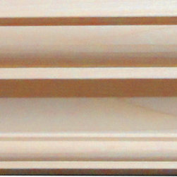 "Inviting Home - Lauderdale Crown Molding - White Oak Wood - LAUDERDALE WOOD CROWN MOLDING IN WHITE OAK 3-1/2""H X 3-1/4""P X 4-3/4""F X 8'00""L SOLD IN 8 FOOT LENGTH (3 PIECE MINIMUM REQUIRED) THE HAND-CARVED CROWN MOLDING HAS OUTSTANDING QUALITY MOLDING PROFILE MILLED FROM CARVED FROM HIGH GRADE KILN DRIED POPLAR HARD MAPLE RED OAK AND CHERRY. CROWN MOLDING SOLD UNFINISHED AND CAN BE EASILY STAINED PAINTED OR GLAZED. THE INSTALLATION OF THIS MOLDING SHOULD BE TREATED THE SAME MANNER AS YOU WOULD TREAT ANY WOOD MOLDING: ALL CROWN MOLDING MOLDING SHOULD BE KEPT IN A CLEAN AND DRY ENVIRONMENT AWAY FROM EXCESSIVE MOISTURE. IT IS RECOMMENDED TO ACCLIMATE WOODEN MOLDINGS FOR 5-7 DAYS. WHEN INSTALLING WOOD MOLDING IT IS RECOMMENDED TO NAIL MOLDING SECURELY TO STUDS AND GLUE ALL MITERED CORNERS FOR MAXIMUM SUPPORT.Lauderdale wood crown molding in white oak 3-1/2""H x 3-1/4""P x 4-3/4""F x 8'00""L sold in 8 foot length (3 piece minimum required) The hand-carved crown molding has outstanding quality molding profile milled from carved from high grade kiln dried poplar hard maple red oak and cherry. Crown molding sold unfinished and can be easily stained painted or glazed. The installation of this molding should be treated the same manner as you would treat any wood molding: all crown molding molding should be kept in a clean and dry environment away from excessive moisture. It is recommended to acclimate wooden moldings for 5-7 days. When installing wood molding it is recommended to nail molding securely to studs and glue all mitered corners for maximum support."