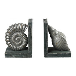 Sterling Industries - Composite Shell Bookends - Composite Shell Bookends