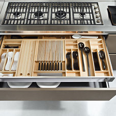 Contemporary Cabinet And Drawer Organizers by ITALIAN KITCHEN CABINETS IN SAN DIEGO
