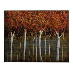 """Crestview - Crestview CVTOP1606 Red Rising - Red Rising Red Rising 40*50"""" Canvas 40*50"""""""