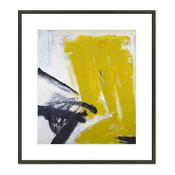 1000Museums - Zinc Yellow, 1959 - Zinc Yellow, 1959 by Franz Kline, from the Chrysler Museum of Art collection.