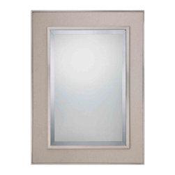 Quoizel Lighting - Quoizel CKMO43929BN Metro Brushed Nickel Mirror -