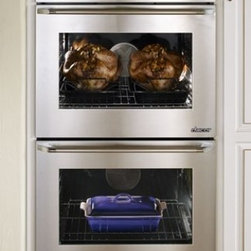 "Dacor - DYO230S Discovery iQ 30"" Electric Double Wall Oven with 4.8 cu. ft. Convection O - With another industry first Dacors Discovery iQ Wall Oven blends technology and performance to deliver a unique cooking experience The integrated and intuitive Android interface provides home chefs with access to the proprietary Dacor iQ Cooking App ..."