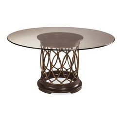 ART Furniture - Intrigue Round Dining Table W/ Glass Top - ART-161224-2636TP-263 - Intrigue Collection Dining Table