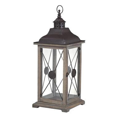 Sterling Industries - Sterling Industries 137-003 Edlington-Large Wooden Lantern - Lantern (1)