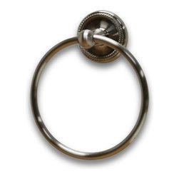Residential Essentials - Satin Nickel Woodrich Towel Ring(RE2186SN) - Satin Nickel Woodrich Towel Ring