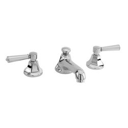 """Newport Brass - Newport Brass 1200/26 Polished Chrome METROPOLE Metropole Double - Metropole Double Handle Low Lead Widespread Lavatory Faucet with Metal Lever HandlesThe Metropole Collection from Newport Brass combines amazing quality with stunning design. Metropole offers a complete bath suite from sink faucet to towel ring. Newport Brass lavatory faucets are available in several different styles with 25 unique finish options. Every Newport Brass bathroom faucet is CA/VT low lead compliant and WaterSense certified. Solid brass construction and ceramic disc cartridges ensure that your Newport Brass bath faucet will last the test of time. You will see why Newport Brass boasts Flawless Beauty from Faucet to FinishFeatures:Double handle lavatory faucetADA compliant lever handlesBrass Valve Bodies. Valve Included.Quarter-turn washerless ceramic disc valve cartridgesPop-up drain with tail pieceCA/VT Low lead compliantWaterSense CertifiedSolid brassReadyship Available Finishes - Finishes guaranteed to be in stock by Newport BrassEnglish BronzeOil Rubbed BronzePolished NickelSatin NickelPolished ChromeFinish Features:Available in 25 beautiful finishesNew Industry Leading lacquer Finish ProcessIAPMO Certified and testedLong Life Finishes - 10 Year WarrantyDurable, color protected, scratch resistantGreen, low VOC, energy efficient finishing processSpecifications:Spout Reach : 5-5/8""""Spout Height : 1-7/16""""Overall Height : 2-11/16""""Handle type : Metal lever handlesHandles Included : YesLow Lead Compliant : YesWaterSense Certified : YesCenters : 8""""Material : Solid Brass"""