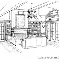 Traditional Rendering by Joseph Mosey Architecture, Inc.