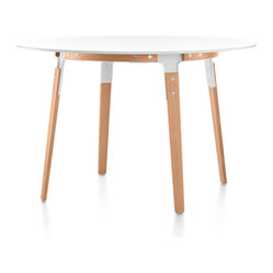 Magis Round Steelwood Table