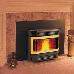 Enviro 22'' x 23'' EF3Bi Series Pellet Fireplace Insert - 75.8% efficient