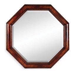 Jonathan Charles - New Jonathan Charles Mirror Mahogany Mirror - Product Details
