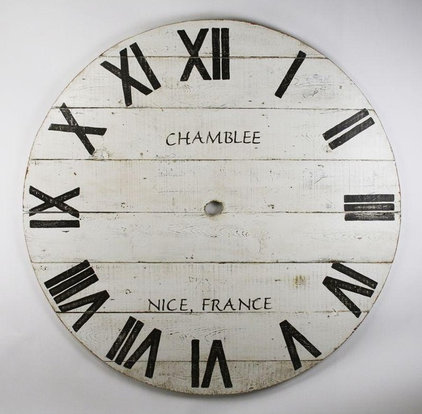 Traditional Clocks by Candelabra