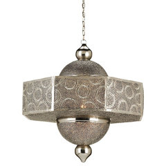 Currey And Company Abadan Pendant - Currey-co-9783 | Candelabra, Inc.