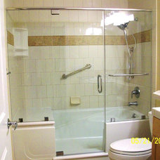 Modern Showerheads And Body Sprays by Walk in Showers at Home