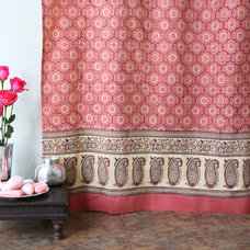 Eclectic Shower Curtains by Saffron Marigold