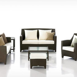 Temporale Rattan Sofa Set - Features: